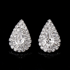 Ladies' Classic Alloy/Rhinestones Earrings