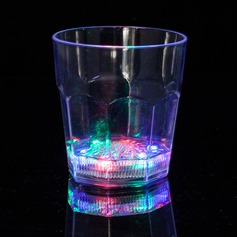 LED light up Plastic Wiskey Glass