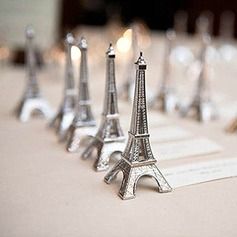 Eiffel Tower Design Alloy Place Card Holders
