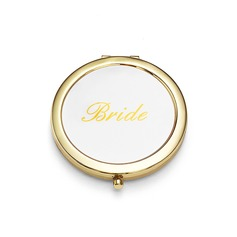 Bride Gifts - Personalized Sexy Stainless Steel Compact Mirror
