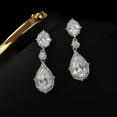 Unique Rhinestones Women's Fashion Earrings (Set of 2)