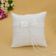 Ring Pillow With Sash/Bow