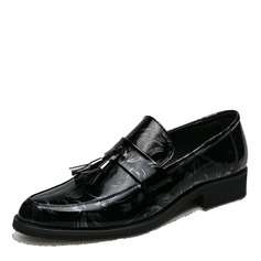 Men's Leatherette Tassel Loafer Casual Dress Shoes Men's Loafers (260208009)