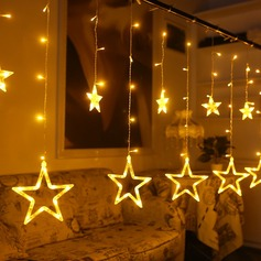 Diseño de la estrella Pretty PVC Luces LED
