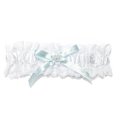 Attractive Lace With Charm Wedding Garters