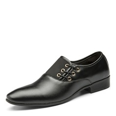 Men's Leatherette Casual Men's Oxfords