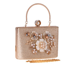 Elegant/Classical/Pretty PU Top Handle Bags/Bridal Purse/Evening Bags (012221414)