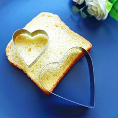 Heart Within A Heart/Heart Shaped Heart Shaped Metal Cake and Cookie Cutter Mold