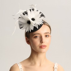 Ladies' Fashion/Special/Glamourous/Elegant/Unique/Fancy/Romantic/Vintage/Artistic Cambric/Feather Fascinators