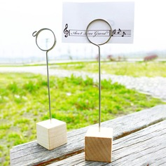 Wooden Place Card Holder Party Decoration