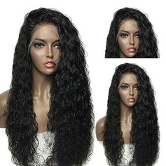 Curly Syntetisk Lace Front Parykker