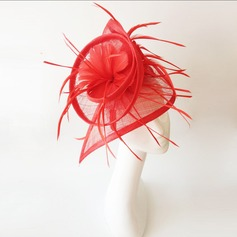 Ladies' Charming Feather/Net Yarn With Feather Fascinators/Tea Party Hats
