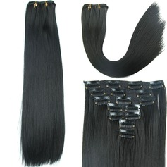 Straight Synthetic Hair Clip in Hair Extensions 7pcs 150g