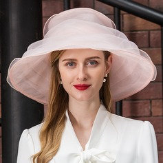 Damen Besondere Organza Schlapphut/Kentucky Derby Hüte/Tea Party Hüte