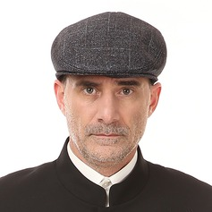 Men's Classic Cotton/Linen Peaked Cap