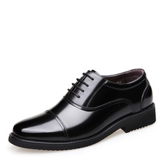 Men's Leatherette Cap Toes Dress Shoes Work Men's Oxfords