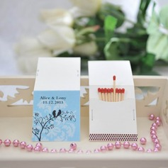 Personalized Lovely Birds Hard Card Paper Matchboxes