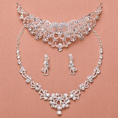 Classic Alloy/Rhinestones With Rhinestone Ladies' Jewelry Sets