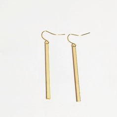 Unique Alloy Ladies' Fashion Earrings