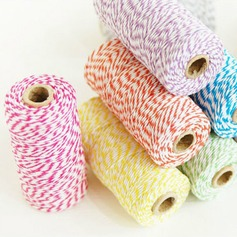 Colorful/10 M Cotton Decorative Accessories