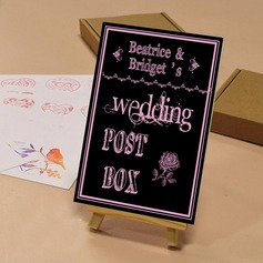 Classic/Nice Lovely Canvas Wedding Sign With Easel