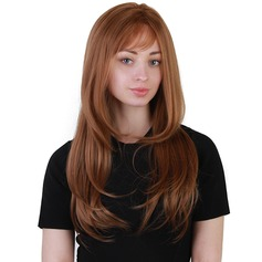 Kinky Straight Synthetic Hair Synthetic Wigs 230g