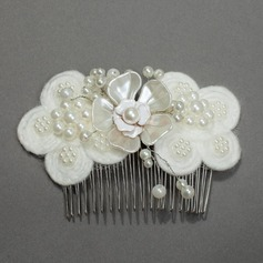 Gorgeous Pearl Combs & Barrettes