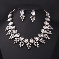 Beautiful Rhinestones With Rhinestone Ladies' Jewelry Sets