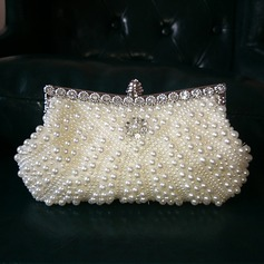 Gorgeous Imitation Pearl Clutches/Satchel