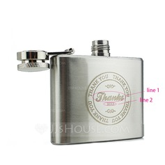 Personalized Stainless Steel Flask (15 letters or less)