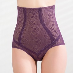 Patterned Spandex High Waist Shaping Panties