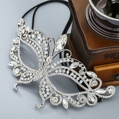 Ladies Beautiful Alloy Masks With Rhinestone/Crystal