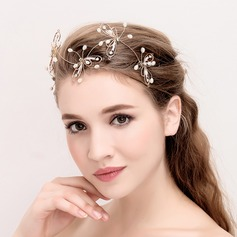Ladies Elegant Alloy/Imitation Pearls Headbands