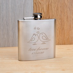Personalized Lovely Birds Stainless Steel Flask