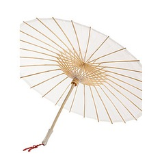 Bamboo/Silk Wedding Umbrellas