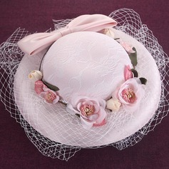 Ladies' Beautiful/Gorgeous Silk With Bowknot Beret Hat