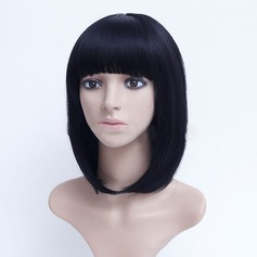 Straight Synthetic Hair Synthetic Wigs 150g