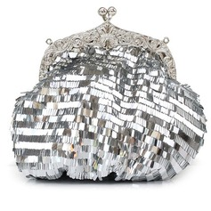 Elegant Sequin With Rhinestone Clutches