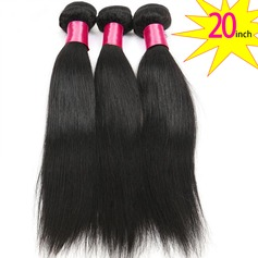 20 inch 8A Grade Brazilian Straight Virgin human Hair weft(1 Bundle 100g)
