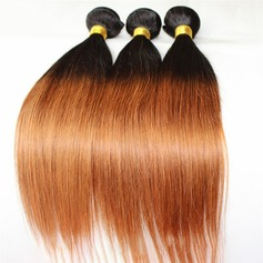 3A Straight Human Hair Human Hair Weave (Sold in a single piece)