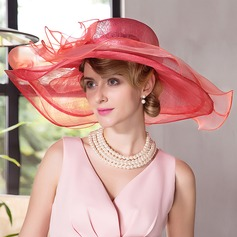 Ladies' Beautiful/Fashion/Elegant Cambric Beach/Sun Hats