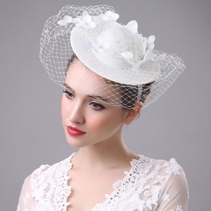 Ladies' Beautiful/Classic/Elegant Cambric Bowler/Cloche Hat