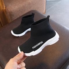 Unisex Round Toe Closed Toe Cloth Flat Heel Flats Boots Sneakers & Athletic