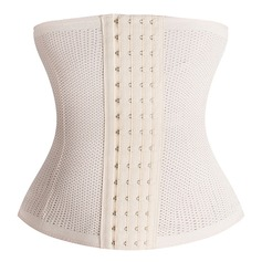 Women Sexy/Charming/Casual Cotton Blends Breathability High Waist Waist Cinchers Shapewear