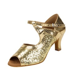 Women's Fabric Latin Dance Shoes
