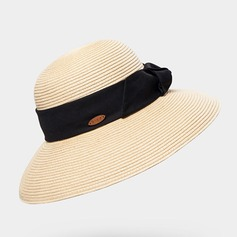 Ladies' Lovely/Exquisite Raffia Straw With Imitation Butterfly Straw Hat/Beach/Sun Hats