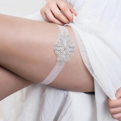 Fabulous Rhinestone Wedding Garters
