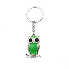 Personalized Owl Design Zinc Alloy Keychains