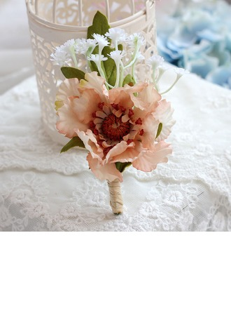 Lovely Cloth Boutonniere