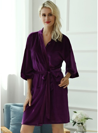 Bride Bridesmaid Satin Robes